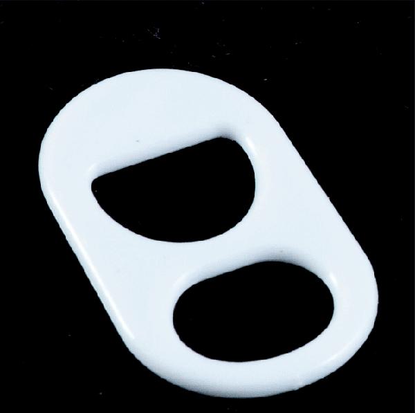 anillas lata blanca
